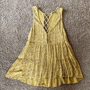 S American Eagle Floral tank